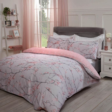 Load image into Gallery viewer, SPRING BLOSSOMS DUVET COVER SET - BLUSH PINK