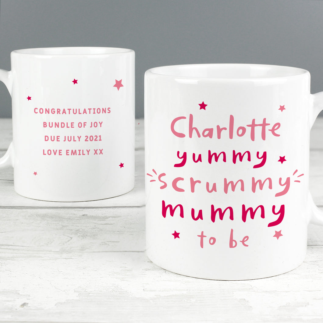 Personalised Yummy Scrummy Mummy Mug