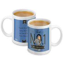 Load image into Gallery viewer, Personalised Me to You No 1 Mug For Him