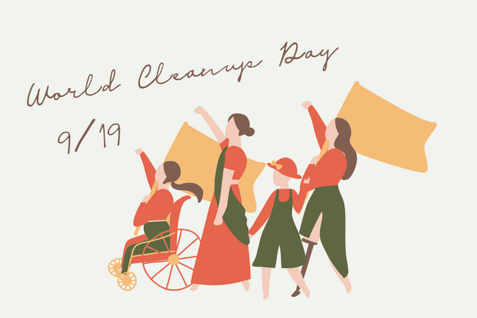 9月19日は「WORLD CLEANUP DAY」