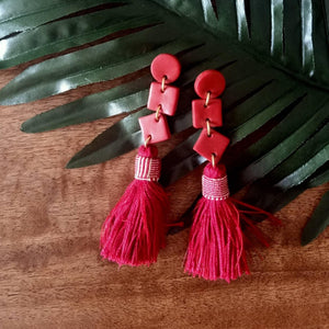 clay design tassel