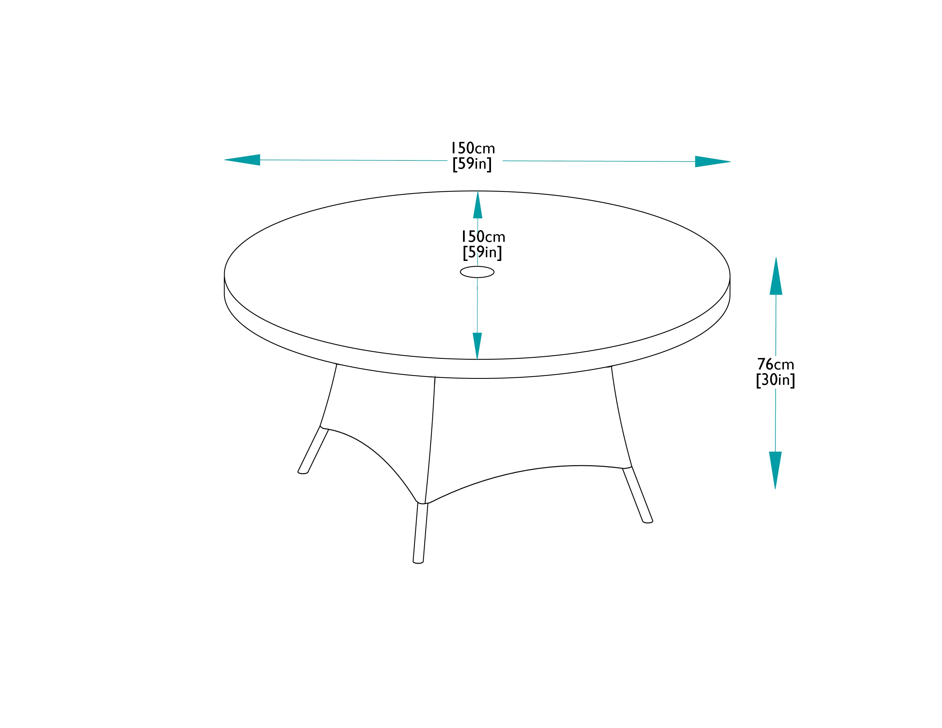 150cm Mayfair Round Dining Table With 6 Dining Armchairs Bridgman