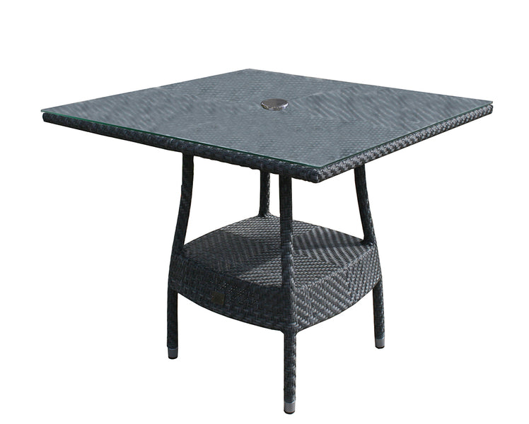 90cm Windsor Square Table  - Grey