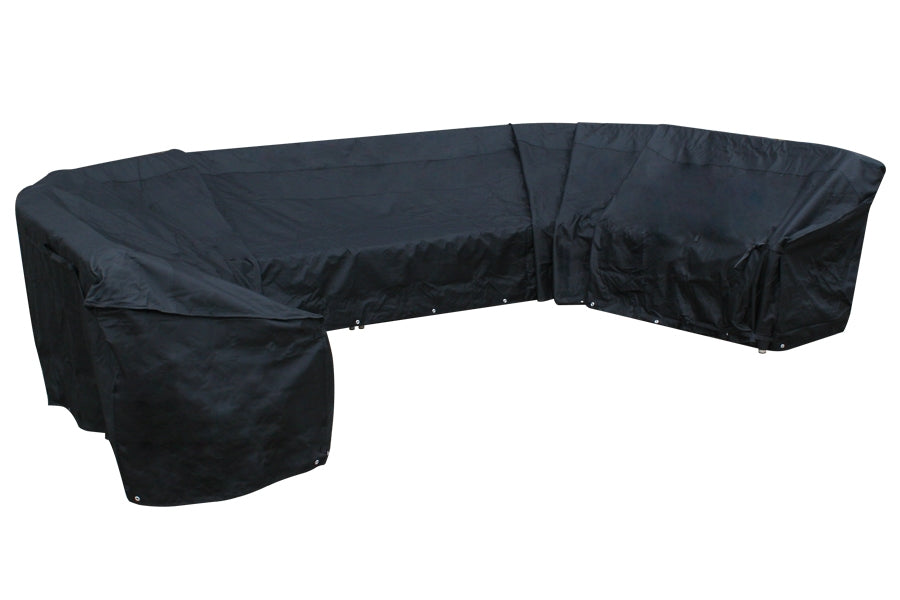860cm Modular Furniture Set Cover - Black