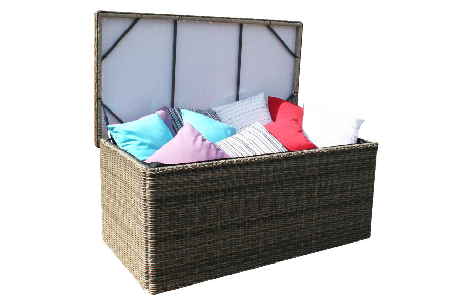 Wickerline Mayfair Outdoor Cushion Storage Box - Assembled