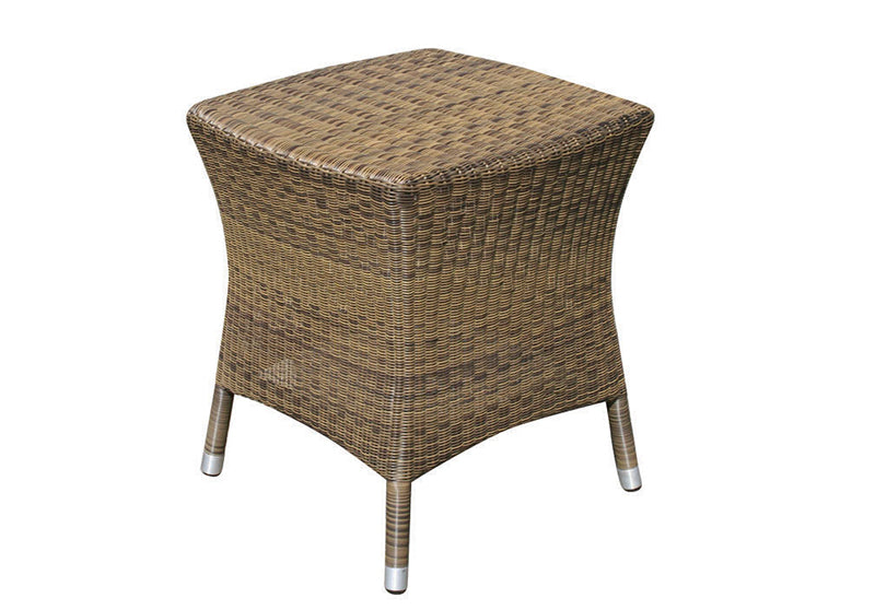 51cm Sussex Square Side Table - Mocha