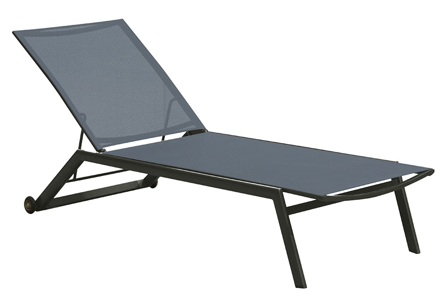 Two Florence Sun Loungers and a Florence Square Side Table
