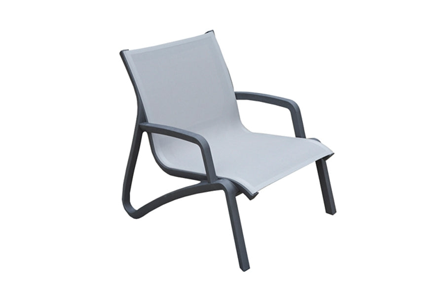 Paris Lounge Armchair - Volcano/Grey