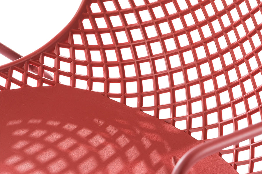 Remy Stacking Armchair - Red