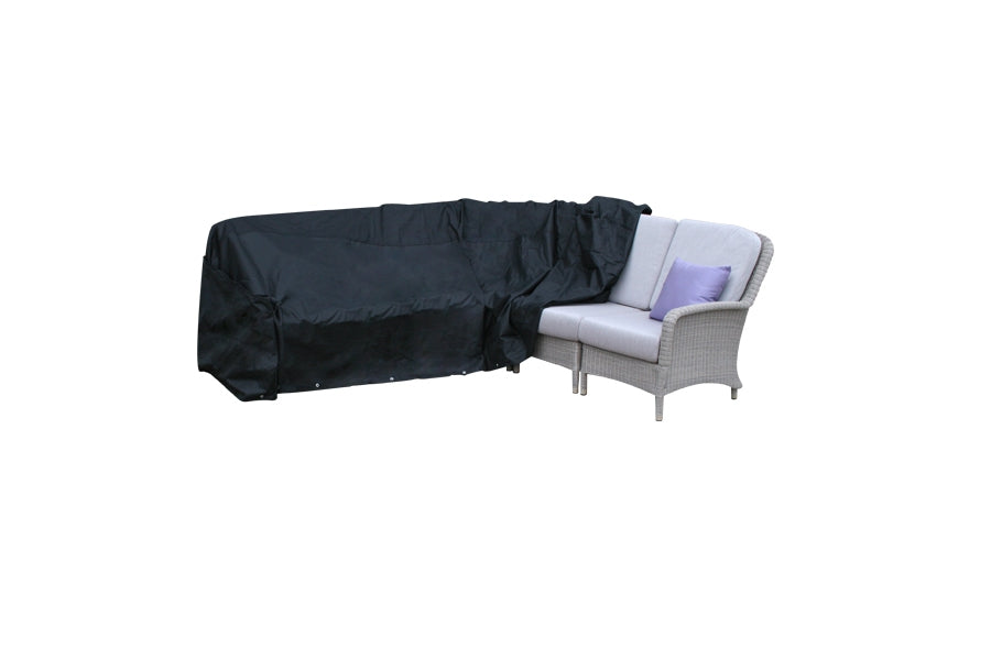 610cm Modular Furniture Set Cover - Black (YCOVM1)