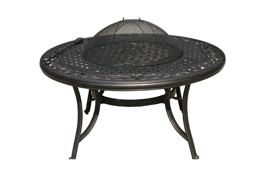 107cm Sorrento Fire Pit Table