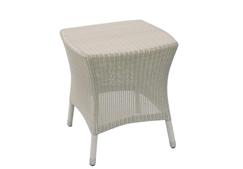 51cm Sussex Square Side Table - Soft White