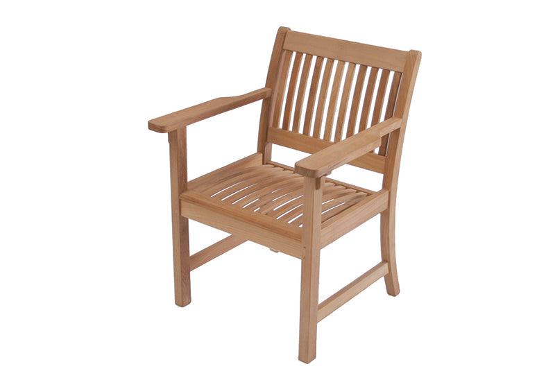 Teak Club Dining Armchair