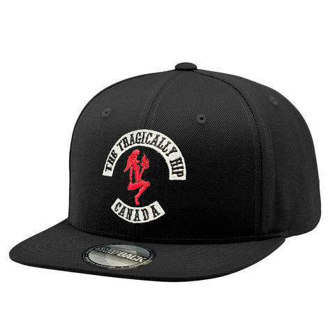 Gargoyle Embroidered Snapback Hat