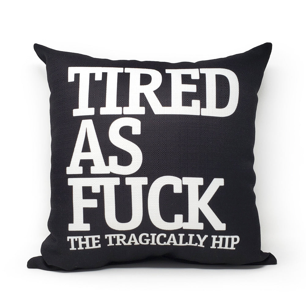 TAF Black Pillow