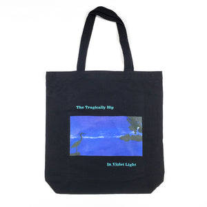 In Violet Light Tote Bag