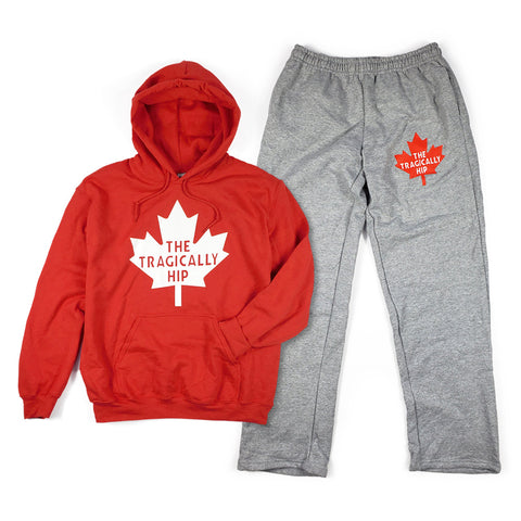 Leaf Fleece Sweat Set - Unisex