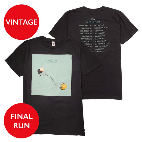Vintage Tour Shirt -  Lemon Tour 2012 (Unisex
