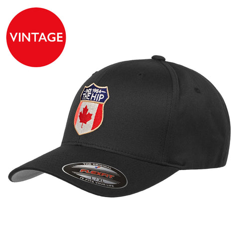 Vintage Tour  2015 Black Crest Hat