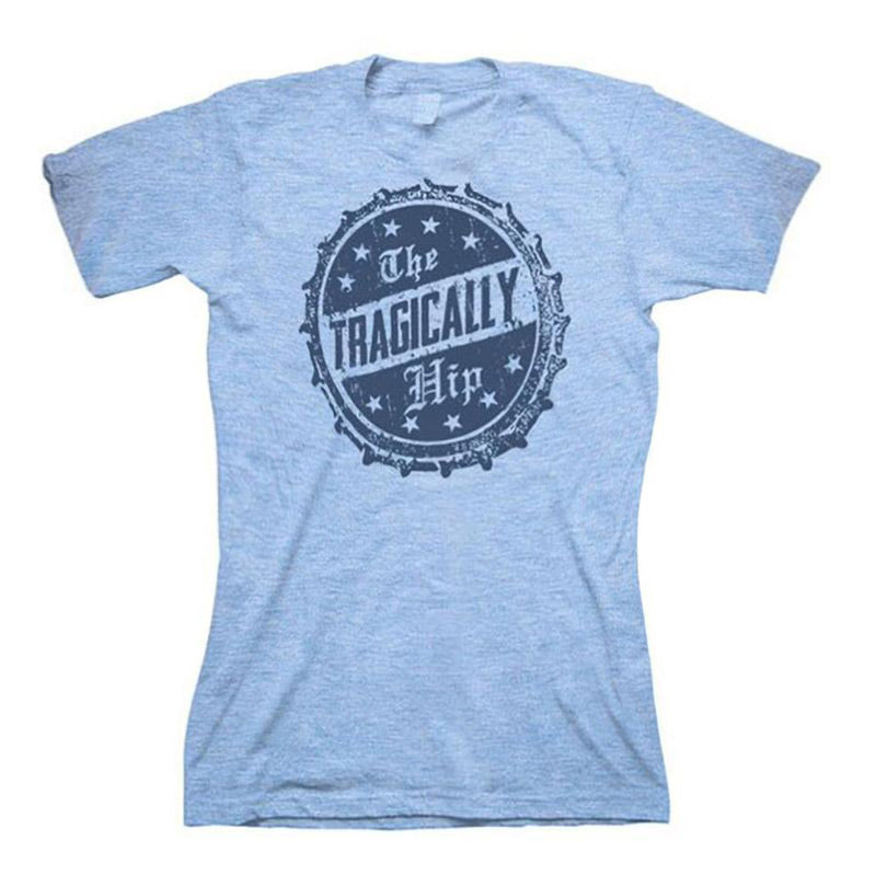 Light Blue Bottle Cap Women's T-Shirt