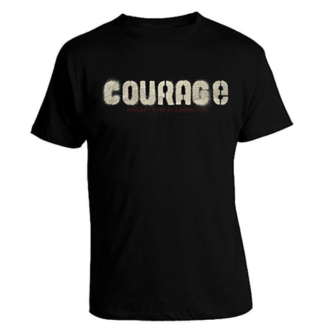 Black Courage T-Shirt - Unisex