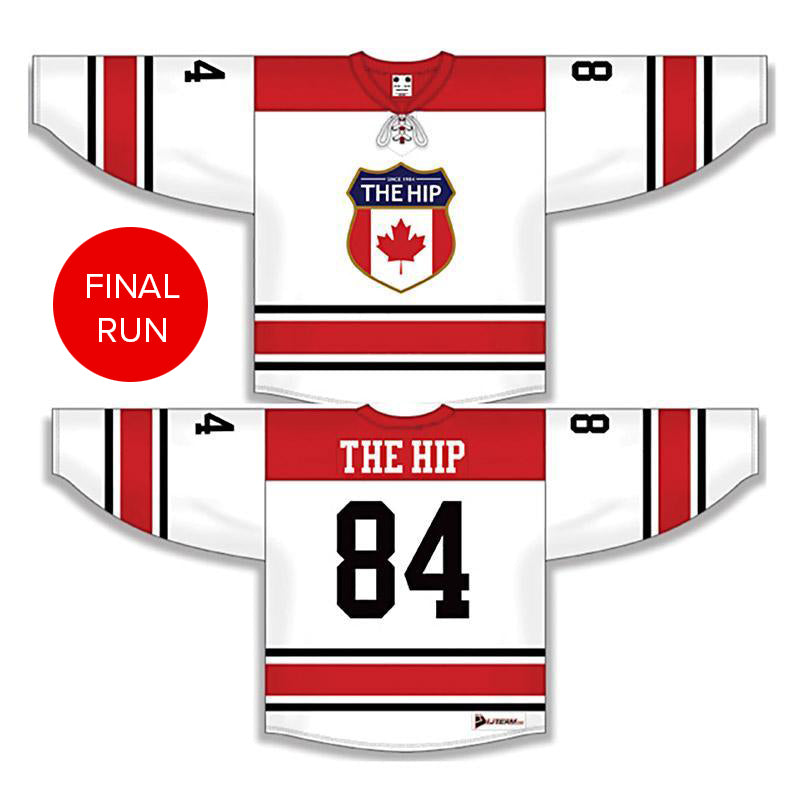 The Tragically Hip Official Crest Hockey Jersey