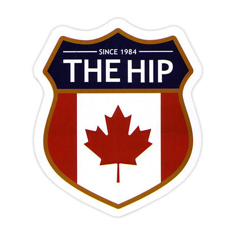 THE HIP Crest Sticker