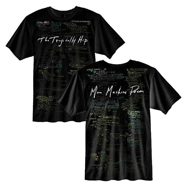 Man Machine Poem All Over Lyric T-Shirt