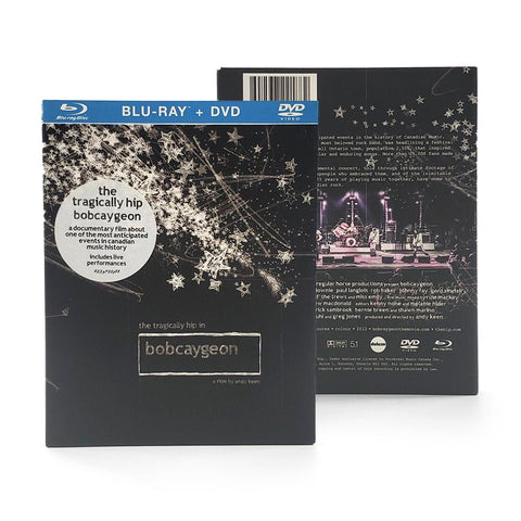 The Tragically Hip in Bobcaygeon Blu-Ray DVD