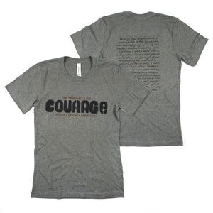 Courage Lyric T-Shirt