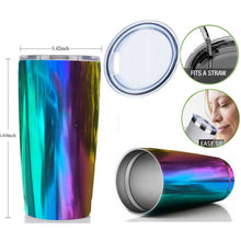 Load image into Gallery viewer, 20 oz Insulated Stainless Steel Tumbler With Sip Lid