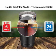 Load image into Gallery viewer, 20 oz Insulated Stainless Steel Tumbler With Slider Sip Lid