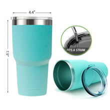 Load image into Gallery viewer, 30 oz Insulated Stainless Steel Tumbler With Sip Lid