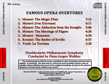 Load image into Gallery viewer, Norddeutsche Philharmonie Symphony - Famous Opera Overtures