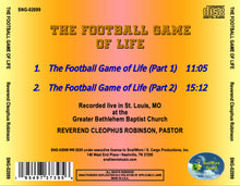 Load image into Gallery viewer, Reverend Cleophus Robinson - The Football Game of Life