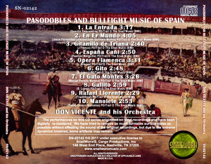 Don Vicente & His Orchestra - Pasodobles and Bullfight Music of Spain