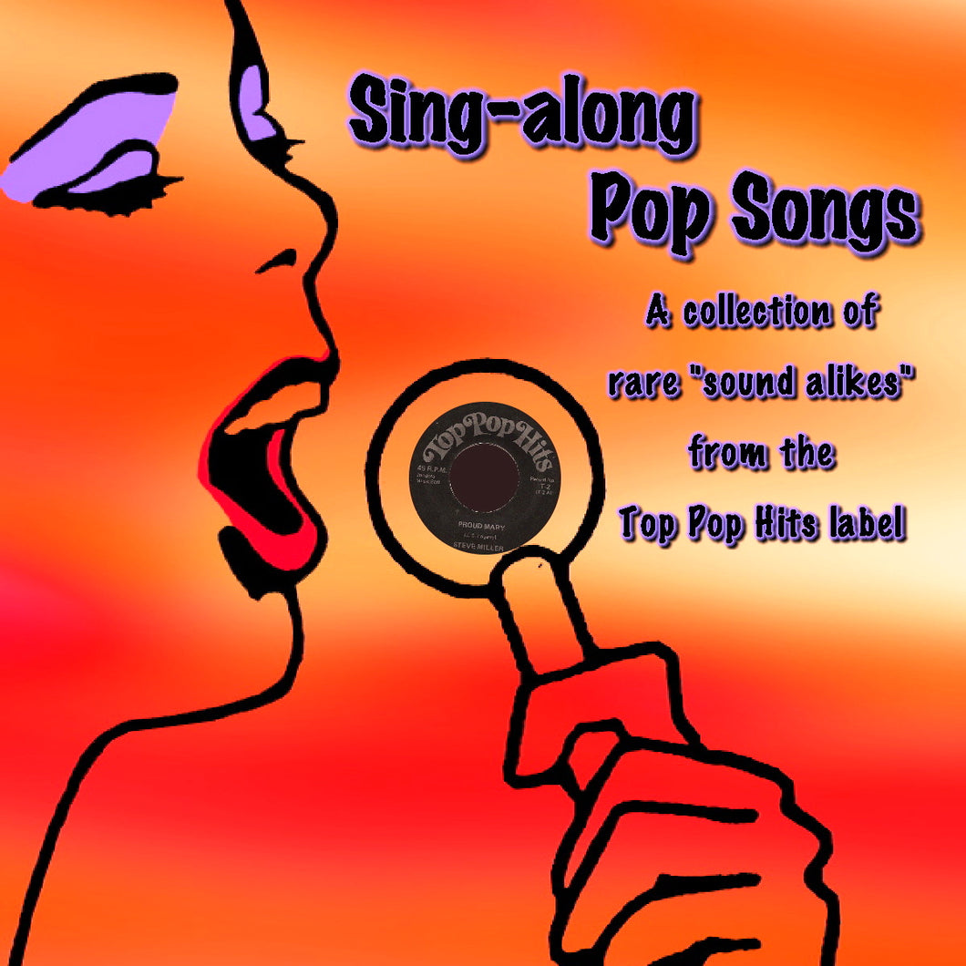 Various Artists - Sing-along Pop Songs