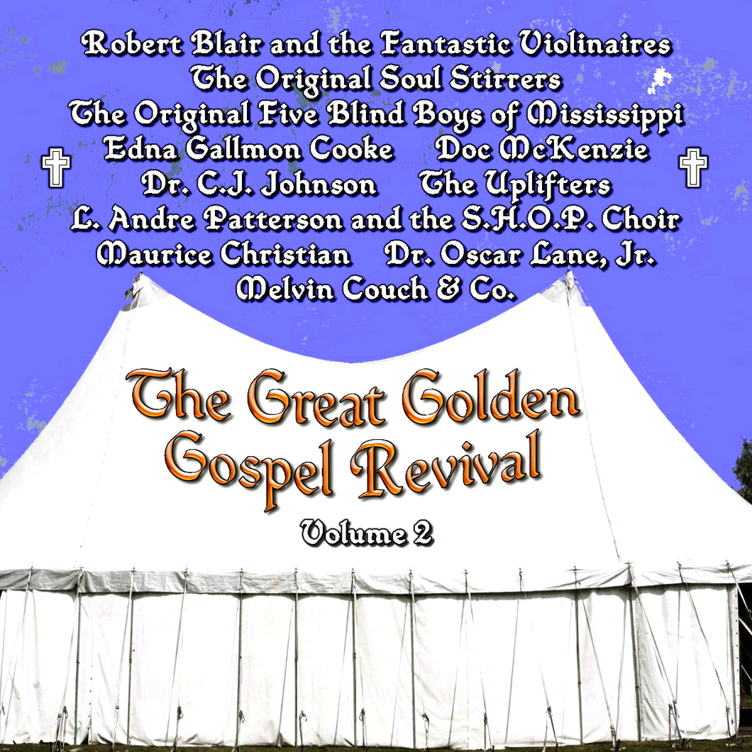 Various Artists - Great Golden Gospel Revival Vol. 2