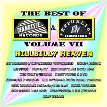 Load image into Gallery viewer, Best of Tennessee & Republic Records, Vol. VII - Hillbilly Heaven