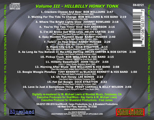 Best of Tennessee & Republic Records Vol. III - Hillbilly Honky Tonk