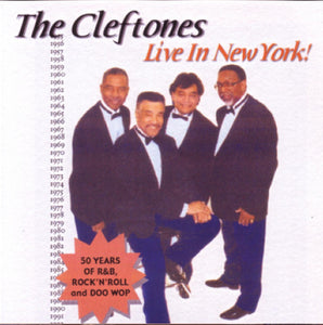The Cleftones - Live In New York!