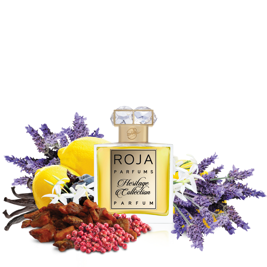 ROJA PARFUMS 51 PARFUM POUR HOMME HERITAGE  INGREDIENTS