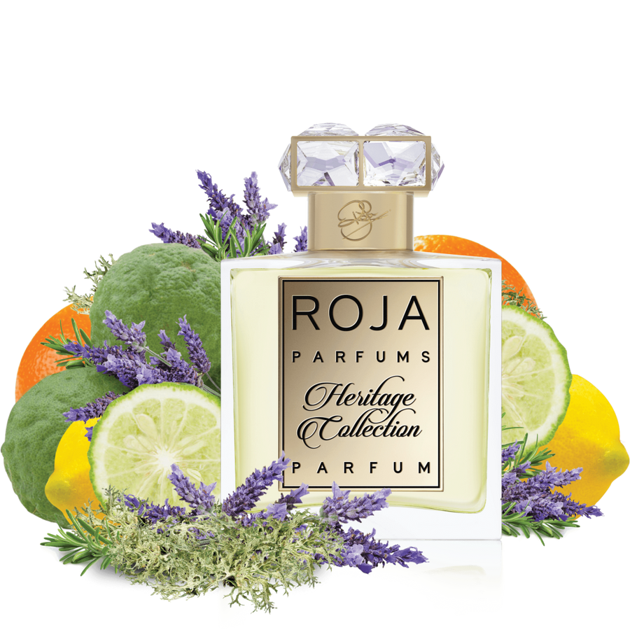BERGAMOT HERITAGE COLLECTION - BERGAMOT LAVENDER & OAKMOSS -