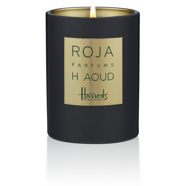 H – THE EXCLUSIVE AOUD CANDLE POUR MAISON EXCLUSIVE - NUTMEG
