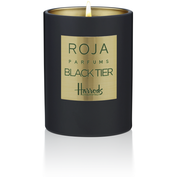H – BLACK TIER CANDLE POUR MAISON EXCLUSIVE - RASPBERRY