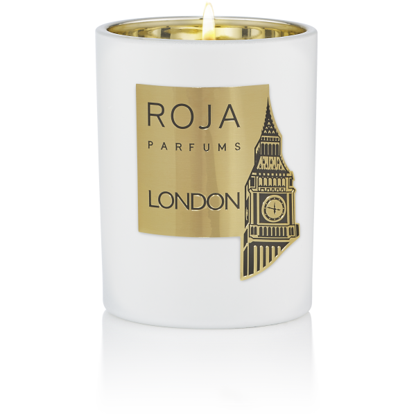 LONDON CANDLE POUR MAISON - LAVENDER VETIVER & LEATHER -