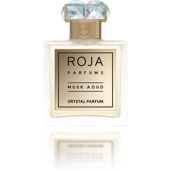 MUSK AOUD COLLECTION AOUD CRYSTAL PARFUM - ROSE LABDANUM &