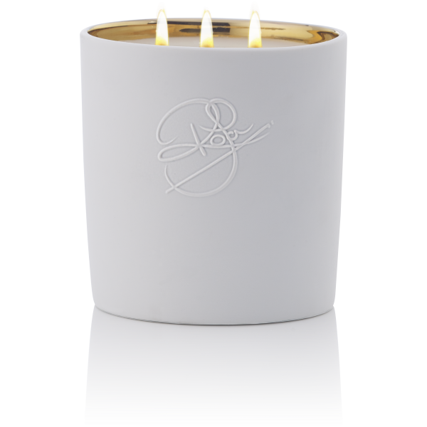 NEW YORK CANDLE POUR MAISON - LIME LILAC & WOOD NOTES - 1KG