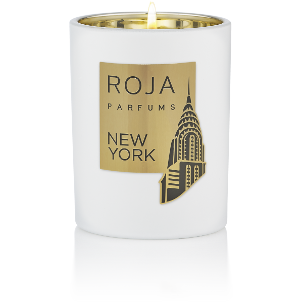 NEW YORK CANDLE POUR MAISON - LIME LILAC & WOOD NOTES - 300G