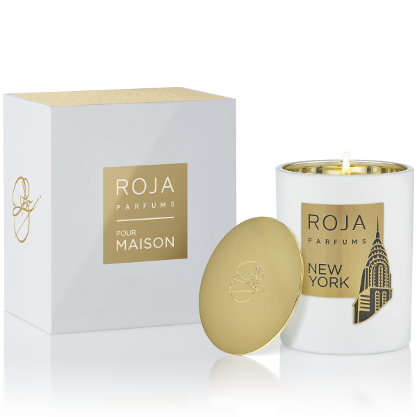 NEW YORK CANDLE POUR MAISON - LIME LILAC & WOOD NOTES -